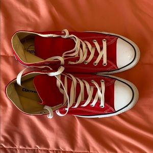 Converse Shoes - Hi Top Red Coverse Chuck Taylor All Stars